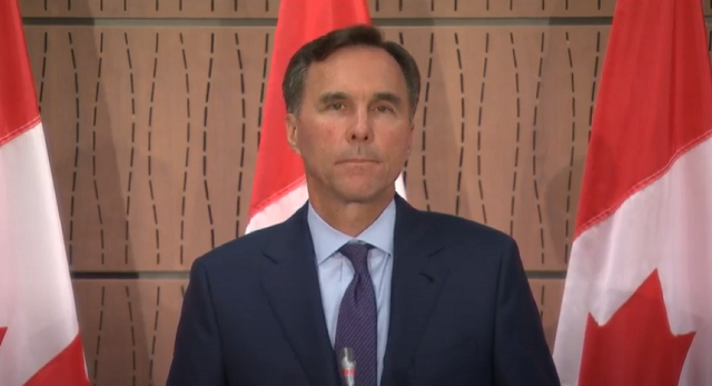 Bill Morneau Resignation Press Conference