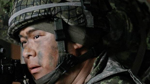 Canadian Forces Reservist James Choi