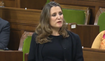 Chrystia Freeland Fiscal Update