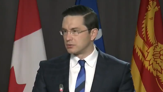 Pierre Poilievre Liberal Lack of Budget