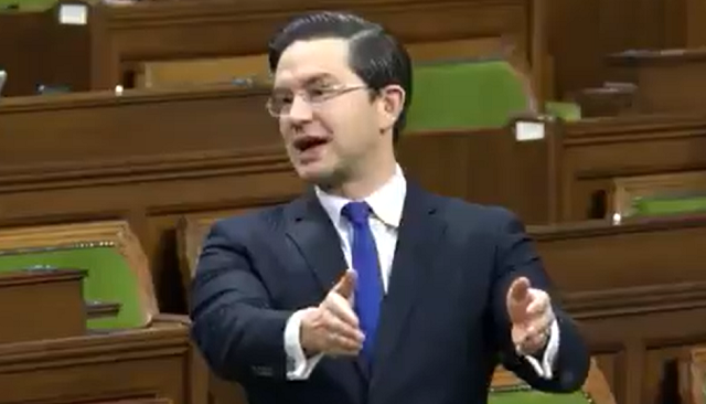 Pierre Poilievre Trudeau Castro Communist China