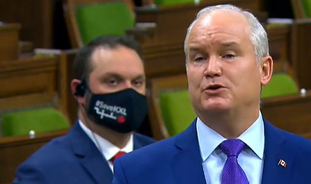 Canada Conservatives Oil & Gas Masks House of Commons