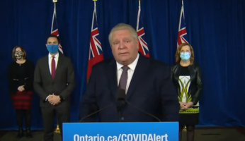 Doug Ford Curfews