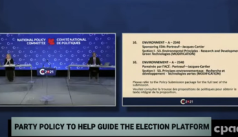 Conservative Party of Canada Convention Climate Change